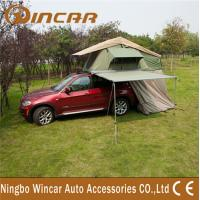 Quality Aluminum Pole Tent and Awning , Net 4WD Camping Car Camper Trailer for sale
