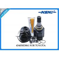 China Toyota Auto Cv Joint 434030D061 Universal Dust Proof For Inner Position wholesale