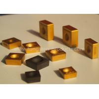 China TNMA TNMC Tungsten Carbide Inserts for Cut - off / Grooving K20 K30 with CVD , PVD Coating wholesale