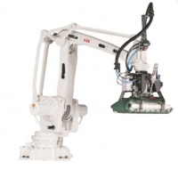 China ABB IRB2400 industrial robot with robotic 6 axis arm and Maximum payload12 kg for welding as mig welding robot wholesale