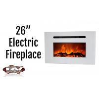 """China 26"""" insert electric fireplace heater  Recessed RV fireplace IF-1326 colorful flame wholesale"""