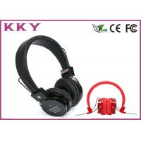 China 2.402 - 2.480GHz Bluetooth 3.0 Noise Reduction Headset Music Over Ear Headphones wholesale