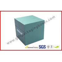 Quality Special Emerald Pop Up Custom Gift Boxes Silver Logo Foiled Promotion Gift Package for sale