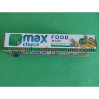 China Household use PE cling film with cutter box for food wrapping wholesale
