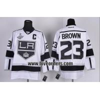 China nhl los angeles kings #23 brown hockey jersey wholesale