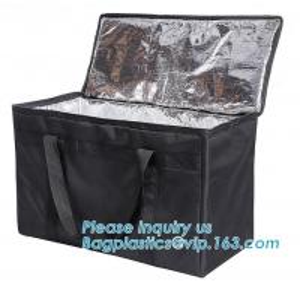 China 4mm Aluminium Foil Insulation PEVA 420D Polyester Cooler Bag,thermal insulation 600D polyester cooler tote bag bagease wholesale