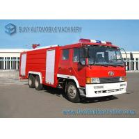 China 6X4 12000L Water Fire Fighting Trucks 360hp FAW Chassis Double Row Cabin wholesale