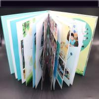 China Art Paper Saddle Stitched Booklet , Varnishing Surface Saddle Stitched Brochure wholesale