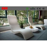 China Solid Led Glowing Lounge Chair Sun Bed Pool Chairs 3 Years Warranty wholesale