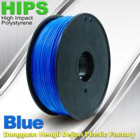 China Recycled  HIPS 3D Printing Filament Materials 1.75mm  /  3.0mm 1.0KG wholesale
