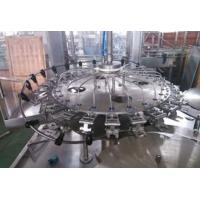 China Automatic Bottle Rinsing Carbonated Drink Filling Line Stainless Steel Structure wholesale