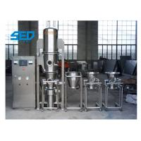 China Stainless Steel Pharmaceutical Dryers / Fluid Bed Dryer Granulator For Powder Materials on sale