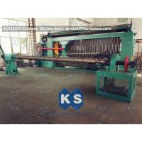 China Hexagonal Wire Mesh Machine Woven Wire Mesh Machinery With 95% Aluminium Alloy Wire wholesale