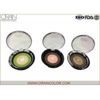 Multi - Colored Powder Professional Eyeshadow Palette With Beautiful Round
