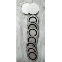 China Ring Shape Piezoelectric Element , Piezoelectric Plate Electrodes On The Surface wholesale