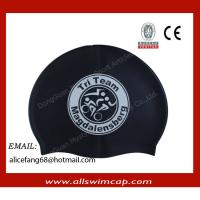 China Swimming Cap, Customized Printed Logo are Accepted, Measures 23*20cm, Made of silicone on sale