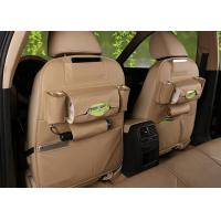 China Double Sided Leather Foam Car Seat Back Storage Bag EN71 Certificate on sale