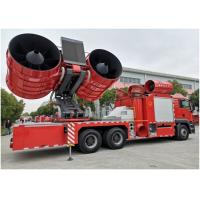China High Pressure Rescue Fire Truck Monolithic Clutch 430mm Diameter Large Smoke Exhaust wholesale
