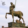 Buy cheap BLVE Bronze Greek Centaur Sculpture Metal Roman Warrior Outdoor Famous Statue from wholesalers