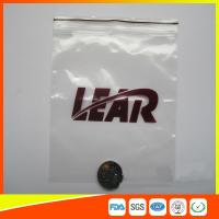 China PVC Poly Plastic Packing Ziplock Bags Waterproof  Resealable With Zipper wholesale