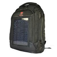 China 3.5W Solar Charging Backpack , Camping Backpack With Solar Phone Charger wholesale
