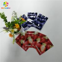 China Digital Printing Plastic Pouches Packaging Zip Lock Aluminum Foil Three Side Sealed wholesale