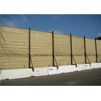 China Temporary Acoustic Barriers Cut Edge for for 6' x 12' chain link fence panels wholesale
