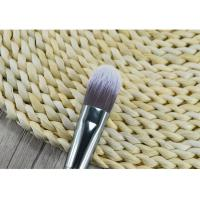 China Wooden Handle Synthetic Fiber Foundation Brush / Angular Makeup Brush wholesale