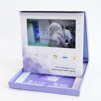 China Lcd Screen Video Folder Video Greeting Cards Folder In Print Brochure CMYK 4 Color wholesale