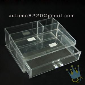 China BO (62) acrylic make up organizer case wholesale