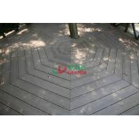 China No Maintain WPC Garden Decking Longlifespan Moisture Resistance 140 * 32mm wholesale