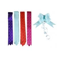 Quality Metallic and PP prinnted Lace Butterfly Pull Bows for Home / Party decorative 18 * 390mm for sale