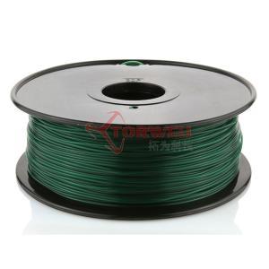 China Torwell Dark Green PLA filament for 3D Printer 1.75mm 1KG/spool wholesale