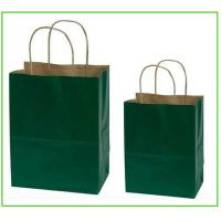 China Customized craft paper bag Patch handle With corrugated paper on sale