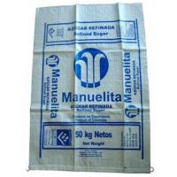 China 50kg Polypropylene Woven Fertilizer Bag / HDPE Woven Sacks Environmental wholesale