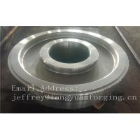 China EN JIS ASTM AISI BS DIN Forged Wheel Blanks Parts Grinding Wheel Helical Ring Gear Wheel wholesale