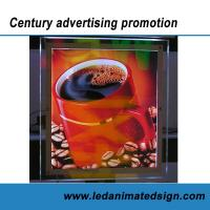 China Business advertising crystal light box wholesale