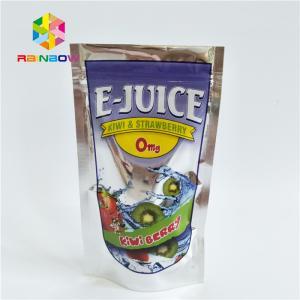 China Custom Print Plastic Pouches Packaging Aluminum Foil Fruit Juice Drinking Pouch wholesale