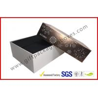 China Luxury Custom Cosmetic Boxes / Cosmetic Product Packaging With Snow Pic Lid , Matt Finish wholesale