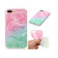 China Marble Protective Phone Cases For iPhone X / Soft TPU IMD Marble Cover wholesale