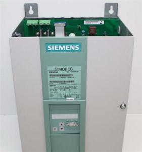 China SIEMENS SIMOREG 6RA70 DC Drives 6RA7075-6DS22-0 wholesale