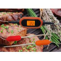 China Grilling Wireless Bluetooth Food Thermometer With APP Smart Alarm Grill Thermometer for Kitchen wholesale