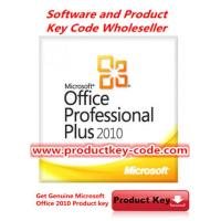 China Wholesale Microsoft Office 2010 Product Key, Genuine Office Professional Plus 2010 FPP Key esd on sale