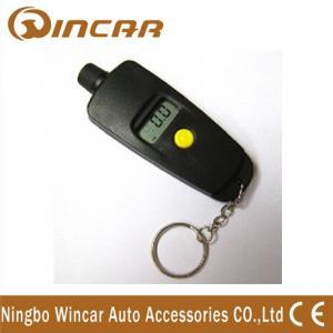 China Mini Portable automotive Tire Digital Tire Pressure Gauge with chains wholesale