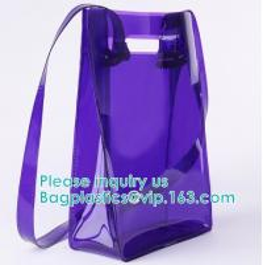China Backpack Shoulder Biodegradable Shopping Bags Promotional Waterproof Cosmeti Vinyl wholesale