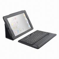 China Keyboard Case for iPad 2/3, Customized Logos are Accepted, 50 Pieces MOQ wholesale