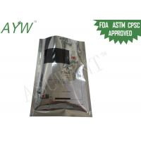 China Toner Packing Resealable Foil Bags Three Side Seal With Customized Logo Printing on sale
