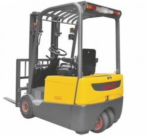 China Smaller Turning Radius Electric Powered Forklift 1.8 Ton Three Wheel For Warehouse wholesale