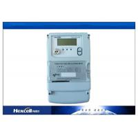 China Electric Watt Hour Meter , kWh Meter Three Phase 235mmX161mmX77mm  Dimension wholesale