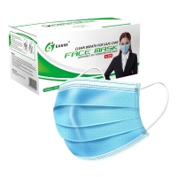 China ASTM F2100 17.5*9.5cm Disposable Surgical Face Mask wholesale